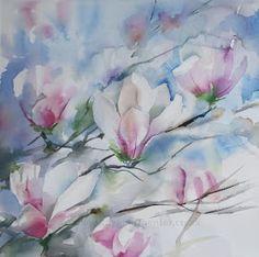 Kaye Parmenter Artist: Spring Magnolia