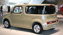 Nissan Cube - Wikipedia, the free encyclopedia