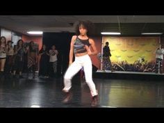"""And here she is dancing to MORE choreo to """"Yonce,"""" this time by Tricia Miranda . 