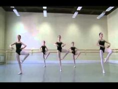 Adagio, Vaganova Ballet Academy. Hmmm, seen this in my dance class also. Makes me happy :)