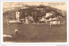 Borgata in Corio  Old postcard