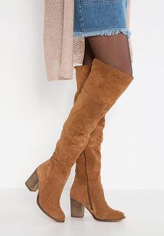 23f50ebc834e Over-the-knee boots - hazel   Zalando.co.uk 🛒