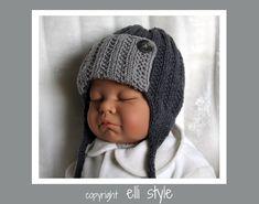 """Mützen - Babymütze """"Quacks"""" für Neugeborene - ein Designerstück von Elli-style bei DaWanda"""