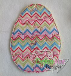 Easter Egg Felt Puzzle. Prints available may vary. This item and many more are available for purchase at https://www.etsy.com/shop/SchoolhouseBoutique