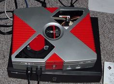 red and silver xbox
