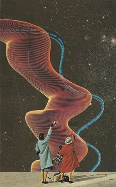 Bryan Olson - Galactic Goodbye, 2011 Collages