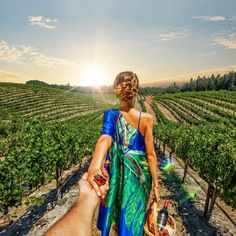 176. #followmeto Napa Valley (the photo series by Russian Photographer, Murad Osmann)