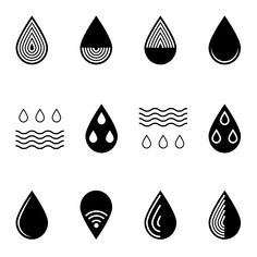 Find Set Water Icons stock images in HD and millions of other royalty-free stock photos, illustrations and vectors in the Shutterstock collection. Icon Design, Logo Design, Icon Package, Promo Flyer, Sacred Heart Tattoos, Water Icon, Icon Set, Icon Icon, Paper Quilling Patterns