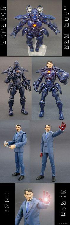 Stark's Stealth Iron Man by *Jin-Saotome on deviantART