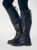 Bed Stu Black Rustic Manchester Tall Boot at Free People Clothing Boutique