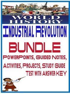 World History Industrial Revolution Unit Bundleincludes Unit Daily Lesson Plan Schedule Beginnings Of Industri World History World War I World History Lessons