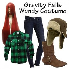 Gravity Falls Wendy Costume - Everything you need for the perfect Wendy outfit! m gunna cosplay as her for halloween! Gravity Falls Costumes, Gravity Falls Cosplay, Casual Cosplay, Cosplay Outfits, Cosplay Ideas, Costume Ideas, Wendy Corduroy, Fall Outfits, Cute Outfits