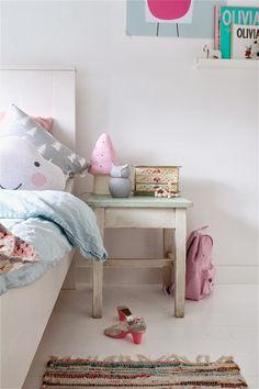 Evies new Room, pink and mint room Kids Corner, Little Girl Rooms, Kid Spaces, New Room, Child's Room, Kids Decor, Room Interior, Girls Bedroom, Room Decor
