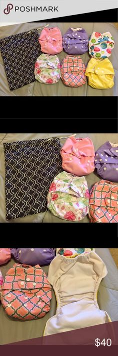 Selling this Cloth Diapers on Poshmark! My username is: lefty16. #shopmycloset #poshmark #fashion #shopping #style #forsale #Other