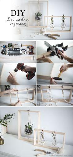 Teds Wood Working - [ DIY ] Des cadres végétaux pour sublimer votre décoration - Get A Lifetime Of Project Ideas & Inspiration!