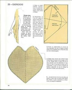 Cape sleeve from 20160129150148401 Sewing Tutorials, Sewing Hacks, Sewing Crafts, Sewing Projects, Techniques Couture, Sewing Techniques, Pattern Cutting, Pattern Making, Dress Sewing Patterns
