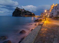 Ischia, Italy // Castello Aragonese by Giuseppe Mattera, via 500px