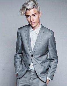 Bleached Hair for Males: Achieve the Platinum Blonde Appear   Men Hairstyles