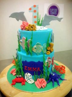Cute sea cake