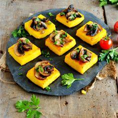 Toasts de polenta - Soy