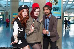 Amy Pond and Doctor Whos | Comikaze Expo 2013