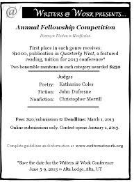 writing competitions 2013