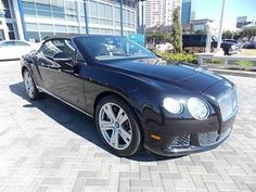 2013 Bentley ContinentalGTC Base AWD 2dr Convertible Convertible 2 Doors Blk for sale in Houston, TX Source: http://www.usedcarsgroup.com/used-bentley-for-sale-in-houston-tx