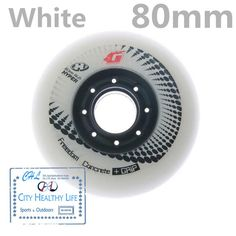 G 84/ A Inline Skates Component Pack of HYPER Freestyle Wheels Inline Skating Wheels Concrete