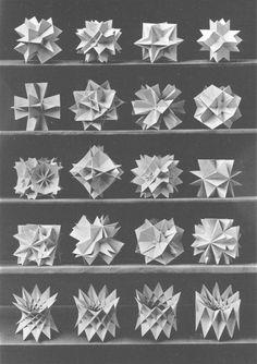 Polyhedron study by Bruckner