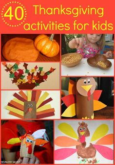 A great round up of Thanksgiving activities including crafts, cooking with kids, educational activities, sensory play ideas, and ideas for teaching kids about gratitude.