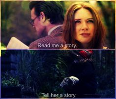 """""""We're all stories in the end. Just make it a good one."""""""