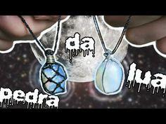 DIY Colar Pedra da Lua - YouTube