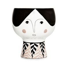 Meyer-Lavigne Flower Me Happy Pot- Alba