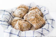 No-Knead Barley Bread with Seeds – Κρίθινο Σπιτικό Ψωμί χωρίς Ζύμωμα, με Σπόρους Bread Recipes, Cooking, Healthy, Food, Kitchen, Essen, Bakery Recipes, Meals, Eten