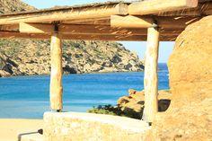 Papas Beach, Ios Island, Cyclades GReece Beaches, Greece, Pergola, Ios, Outdoor Structures, Island, Greece Country, Sands, Outdoor Pergola