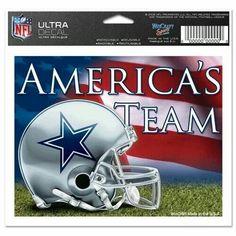 America s Team Decal Nfl Dallas Cowboys 35e3fdbf0
