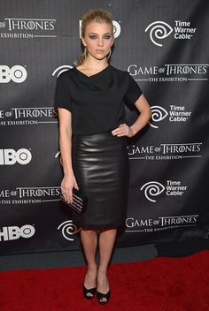 """Natalie Dormer attends """"Game Of Thrones"""" The Exhibition New York Opening at 3 West 57th Avenue on March 27, 2013 in New York City."""