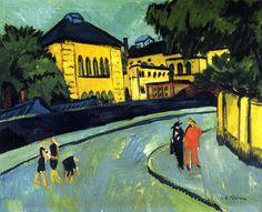 Ernst Ludwig Kirchner, Dresden-Friedrichstadt, 1910