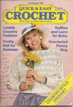 Quick n Easy Crochet July n August 1998 - Tamara Kailing - Álbuns da web do Picasa..This is a free,downloadable magazine!