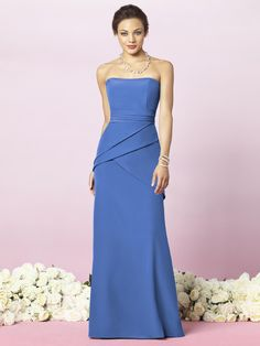 After Six Style 6635  #blue #bridesmaid #dresses
