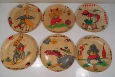 Detské plastové tanieriky