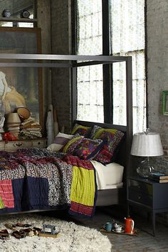 I love our anthropologie bedroom but someday I might do a different bedspread--love this one