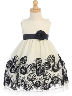 Ribbons of Roses holiday dress $46.95 FineAnDainty.com