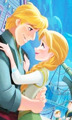 Kristoff and Anna #disney #frozen