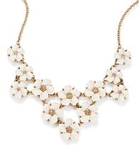 Collar Floral Allure Statement