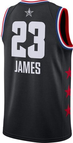 2b45b94f300 Men's Jordan Los Angeles Lakers LeBron James NBA All-Star Weekend 2019  Swingman Jersey