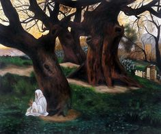 Emile Claus - Landscape in Algerie, 1879 - Canvas Art & Reproduction Oil Paintings at overstockArt.com