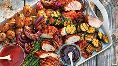 Plateau de grillades variées. #IGA #recette #grillades