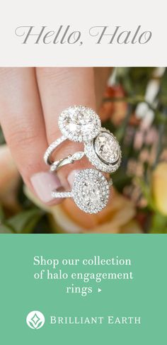 Halo engagement rings one of our most sought after styles feature sparkling accent diamonds encircling the center gem. Discover our collection. Halo Engagement Rings, Wedding Engagement, Wedding Bands, Wedding Ring, Perfect Wedding, Dream Wedding, Wedding Day, Tent Wedding, Budget Wedding