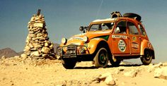 Citroen 2CV Safari. Clarence will be very similar to this setup when I get finished with him.